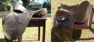 Urad & Leather Mate used on saddles. Click image for a closer view.